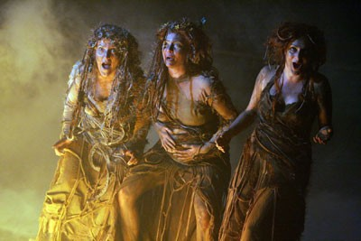 why are there 3 witches in macbeth